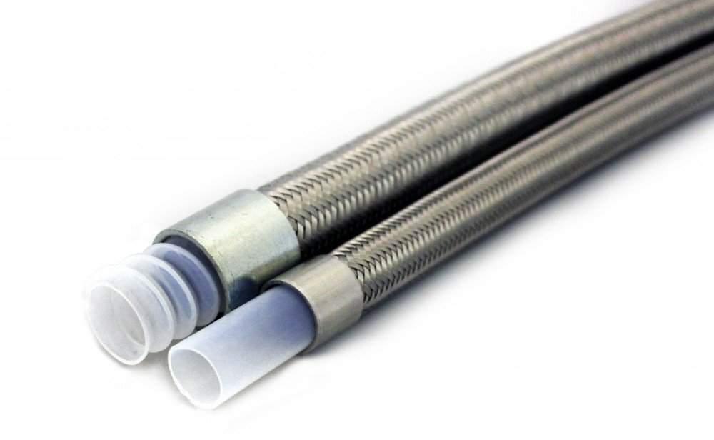Ptfe teflon flexible lined hose pipe